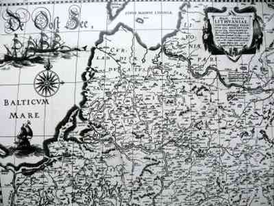 LDK žemėlapis