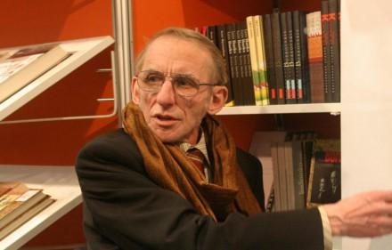 Rašytojas Petras Dirgėla.