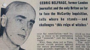 Sedrikas Belfradžas – žymus kinokritikas, laikraščių savininkas, donžuanas, reklamos subtilybių žinovas.