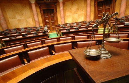 teismo salė