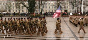Amerikiečių kariai Vilniuje. Vytauto Visocko (Slaptai.lt) nuotr.
