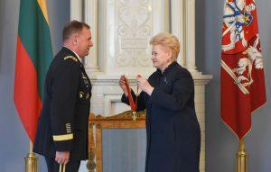 Amerikos sausumos pajėgų vadas Europoje