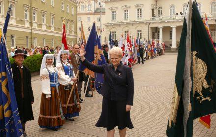 Lietuvos Respublikos Prezidentė Dalia Grybauskaitė. Vytauto Visocko (Slaptai.lt nuotr.).