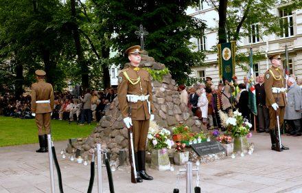 Gedulo ir Vilties dienos minėjimas Vilniuje