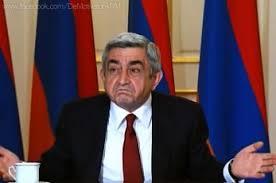 Armėnijos prezidentas Seržas Sargsianas