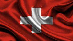 Šveicarijos vėliava.