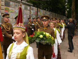 Gedulo ir Vilties dienos minėjimas Vilniuje. Vytauto Visocko (Slaptai.lt) nuotr.