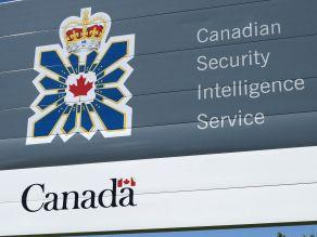 Kanados žvalgybos ženklas.
