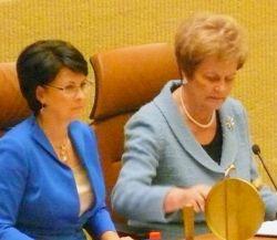 Dešinėje: Vida Marija Čigriejienė. Vytauto Visocko (Slaptai.lt) nuotr.