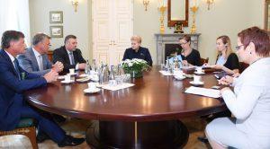 Prezidento kanceliarijos (Robertas Dačkus) nuotrauka.
