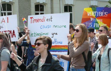 Baltic Pride 2016 eitynės Vilniuje