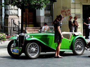 Senieji automobiliai. Vytauto Visocko (Slaptai.lt) nuotr.