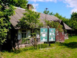 Namas, kuriame gyveno ir dirbo pasienietis Aleksandras Barauskas.