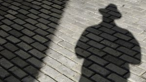 Rusijos šnipo šešėlis.