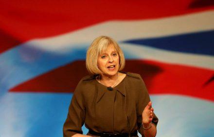 Nuotraukoje - naujoji Didžiosios Britanijos premjerė Theresa May (Teresa Mai).