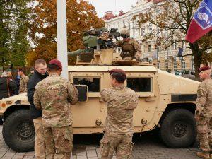 Lietuva saugi, kol ją saugo JAV ginkluotųjų pajėgų atstovai. Vytauto Visocko (Slaptai.lt) nuotr.