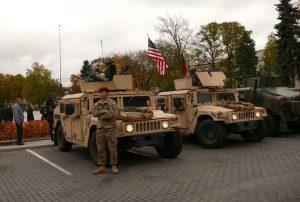 Amerikiečių kariai. Vytauto Visocko (slaptai.lt) nuotr.