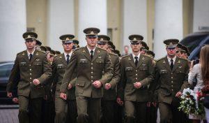 Karininko laipsnio suteikimo ceremonija