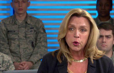 JAV Oro pajėgų sekretorė Deborah Lee James