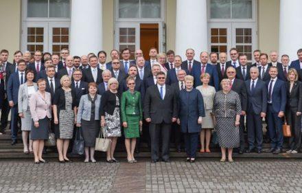 Lietuvos diplomatai susitiko su Prezidente Dalia Grybauskaite.