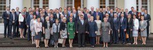 Lietuvos diplomatai susitiko su Lietuvos Respublikos prezidente Dalia Grybauskaite.