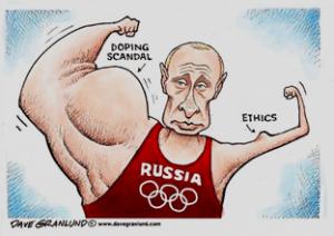 Dopingo skandalas, kurį sukėlė Rusijos valdžia, padedama slaptųjų tarnybų.