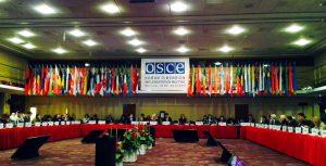 Europos saugumo ir bendradarbiavimo organizacija (ESBO).
