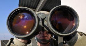 kariniai žiūronai