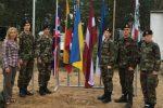 Gen. P. Plechavičiaus kadetų licėjaus auklėtiniai įspūdžių semiasi tarptautinėje stovykloje.
