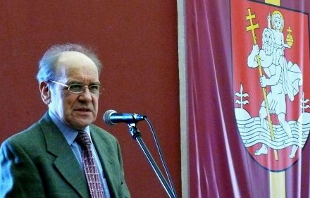 Filosofas Krescencijus Stoškus. Vytauto Visocko (Slaptai.lt) nuotr.