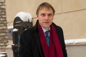 Buvęs Estijos žvalgybos vadovas Eerikas Niiles Krossas. Eero Vabamagi nuotr.