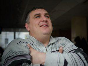 Jevgenijus Panovas, kurį Rusijos slaptosios tarnybos pagrobė ir apkaltino rengus teroro aktą Kryme.