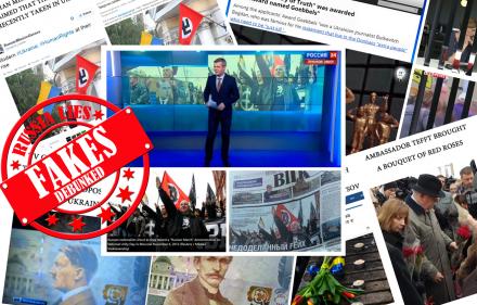 Rusijos dezinformacijos gausa.