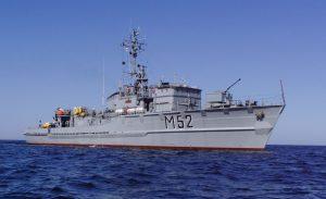 Baltron pratybose be Lietuvos karo laivų dalyvauja ir Vokietijos bei Latvijos karo laivai.