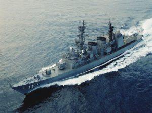 Netrukus šį Japonijos karo laivą bus galima išvysti Klaipėdoje.