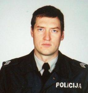 Liudas Šimkus, Telšių apskrities policijos pareigūnas.