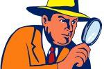 Detektyvas tiria nusikaltimą