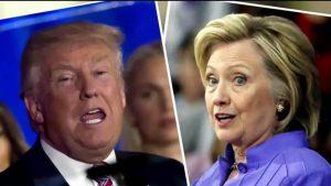 Vis dėlto kas taps 45-uoju JAV prezidentu - Donaldas Trampas ar Hilary Klinton?