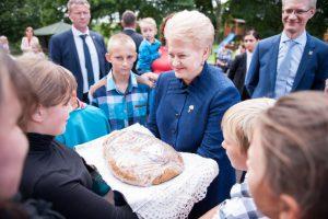 Lietuvos prezidento kanceliarijos nuotrauka.