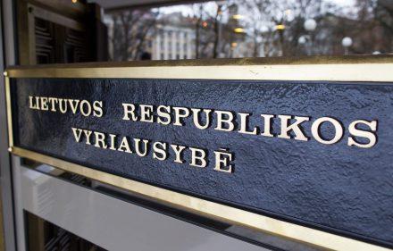 Lietuvos Vyriausybė.