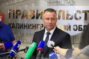 Naujasis Kaliningrado srities gubernatorius Jevgenijus Ziničevas.