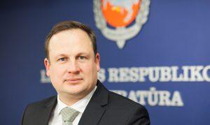 Lietuvos Respublikos generalinis prokuroras Evaldas Pašilis.