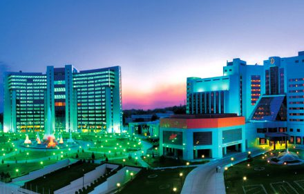 Uzbekistano sostinė Taškentas.