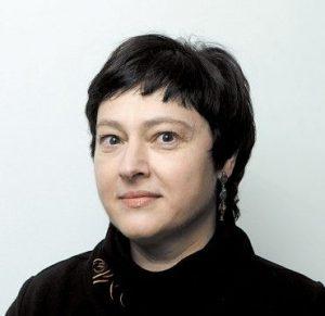 Rašytoja Daiva Tamošaitytė, šio teksto autorė.