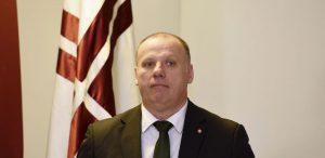 Latvijos gynybos ministras Raimondas Bergmanis.