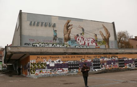 "Buvęs ""Lietuvos"" kinoteatras Vilniuje. Vytauto Visocko (Slaptai.lt) nuotr."