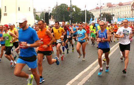Vilniaus maratonas 2016. Vytauto Visocko (Slaptai.lt) nuotr.