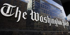 The Washington post leidinio būstinė.