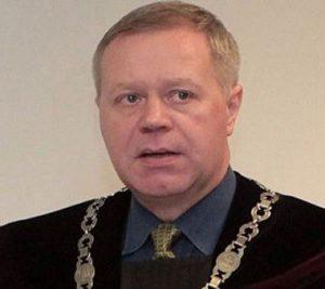 Teisėjas Valerijus Paškevičius.