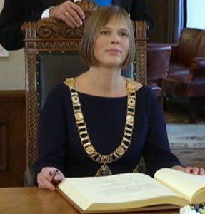 Estijos prezidentė Kersti Kaljulaid.
